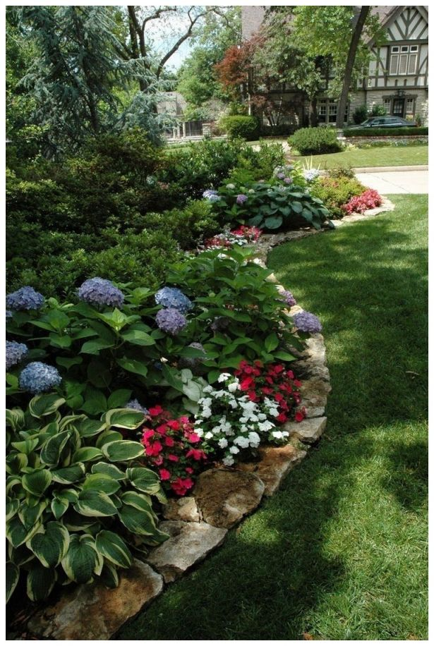 Wonderful low maintenance front garden ideas