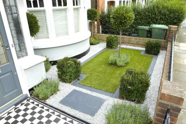 Fantastic terraced house front garden ideas