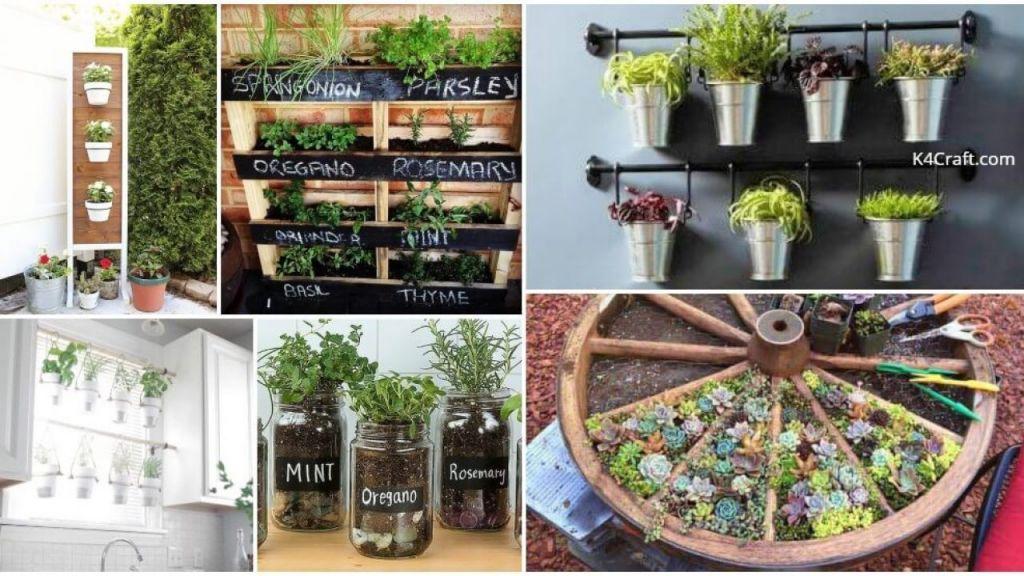 Adorable  diy indoor herb garden ideas