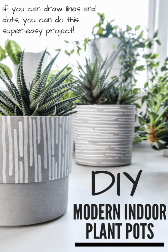 Adorable indoor plant pot decoration ideas