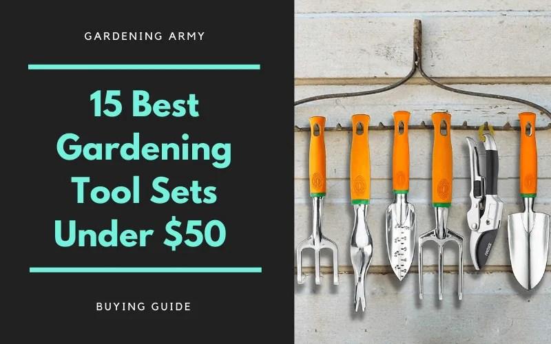 garden tool sets under $50