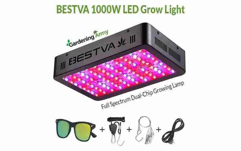 BESTVA 1000W LED Grow Light Review
