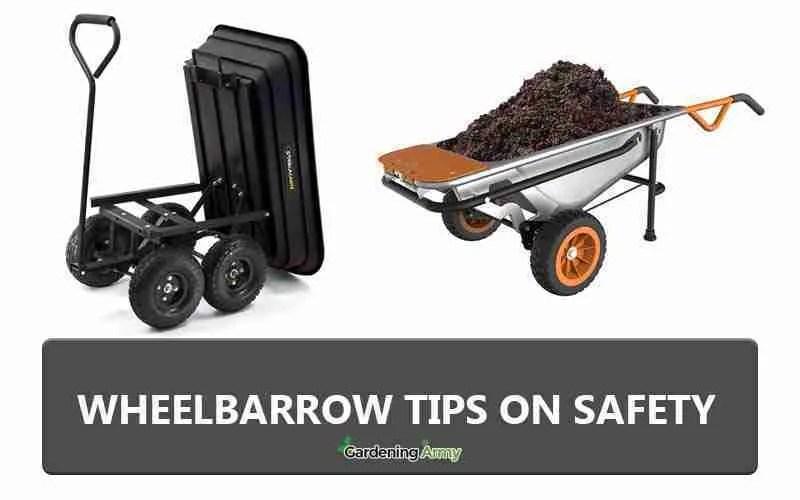 wheelbarrow tips
