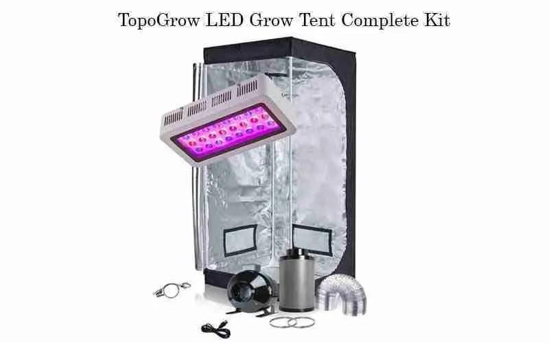 TopoGrow Complete Grow Tent Kit Review