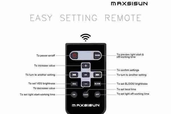 MAXSISUN Timer Control 450W
