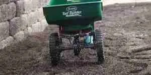 Spread Fertilizer by A Spreader