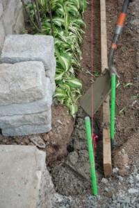 Adding hardscapes wall morguefile