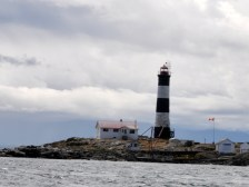 Lighthouse as viewed from our whale watching excursion