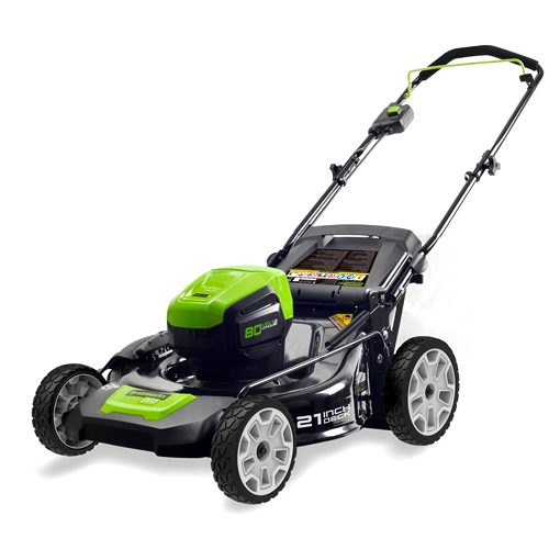 GreenWorks Pro GLM 801600 80V 21-inch Cordless Lawn Mower