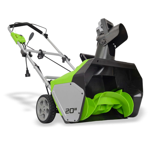 Greenworks 2600502 20-inch 13 Amp Corded Snow Thrower