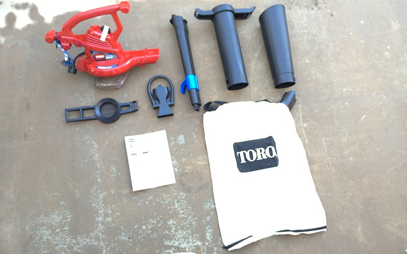 Toro UltraPlus Leaf Blower Vac Review