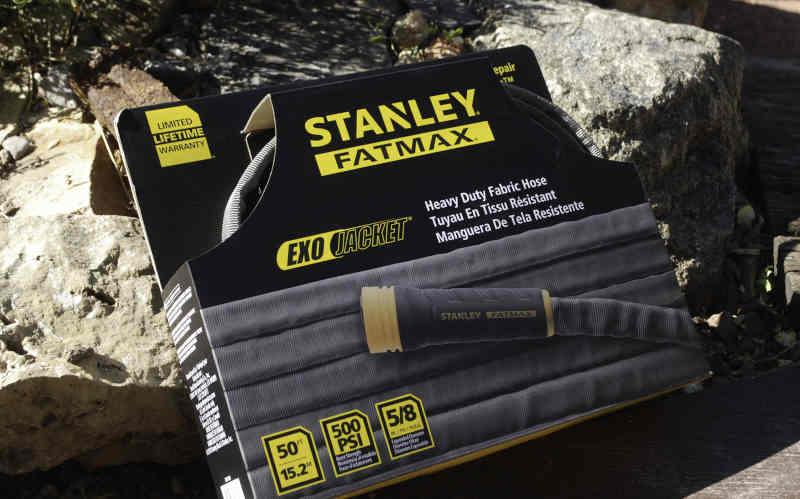 stanley fatmax exojacket hose in packaging