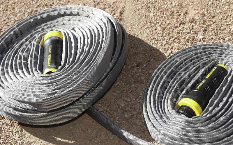 stanley fatmax exojacket hose partly unwound