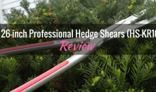 ARS 26-inch Professional Hedge Shears (HS-KR1000): Product Review