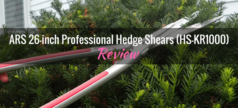 ARS 26-inch Professional Hedge Shears HS-KR1000
