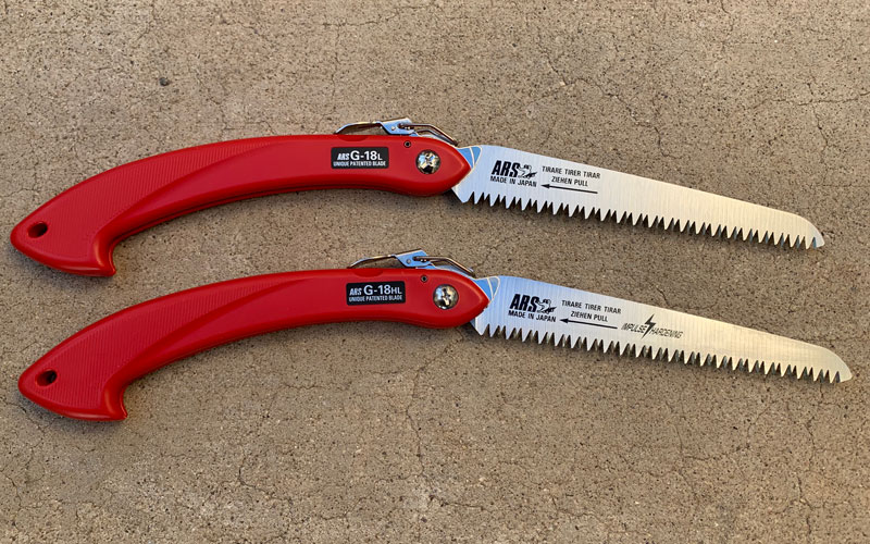 ARS Folding Hand Saws GHL and GL