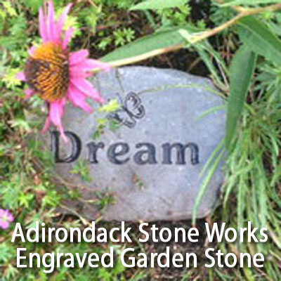 Engraved garden stone from adirondack stone works product review adirondack stone works engraved garden stone review workwithnaturefo