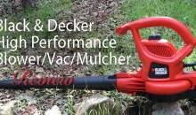Black & Decker High Performance Blower/Vac/Mulcher (BV3600): Product Review