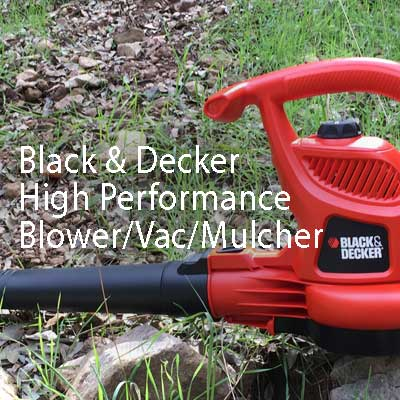 Black & Decker High Performance Blower/Vac/Mulcher (BV3600)