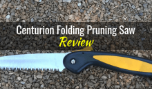 Centurion Folding Pruning Saw: Product Review