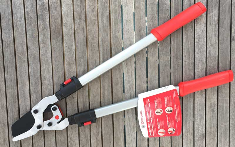 Conrona-(ComfortGEL-+-Extendable)-Loppers-closed-view-with-tag