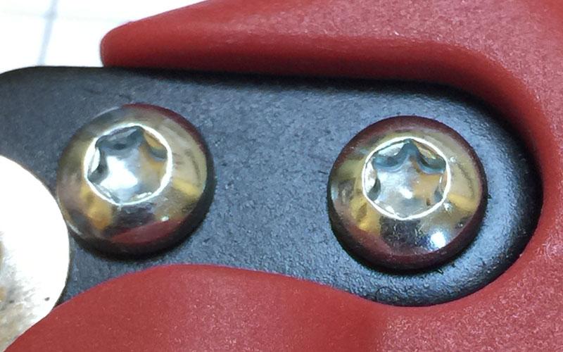 Corona 4180 Pruner Torx screws