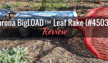 Corona BigLOAD™ Leaf Rake (#45030): Product Review