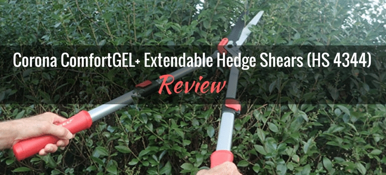 Corona ComfortGEL+ Extendable Hedge Shears (HS 4344)