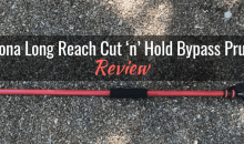 Corona Long Reach Cut 'n' Hold Bypass Pruner (LR 3460): Product Review