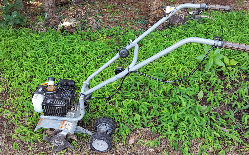 Dirty Hand Tools Mini Cultivator Powerful Engine