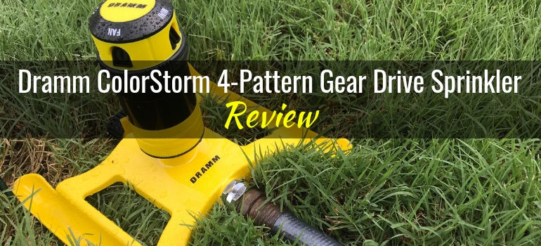 Dramm ColorStorm 4pattern gear drive sprinkler featured image