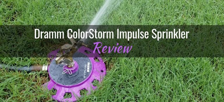 Dramm ColorStorm Impulse Sprinkler featured image