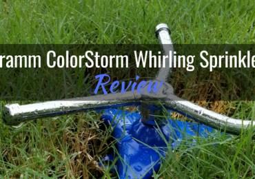 Dramm ColorStorm Whirling Sprinkler