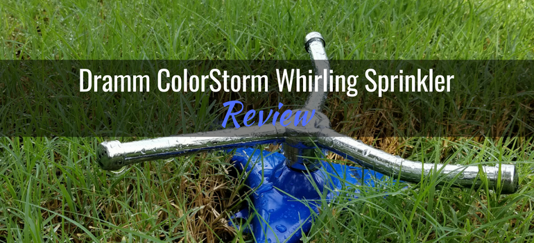 Dramm ColorStorm Whirling Sprinkler