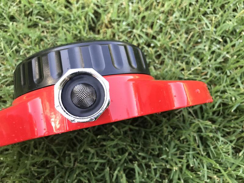 Dramm ColorStorm 9-Pattern Turret Sprinkler hose connector