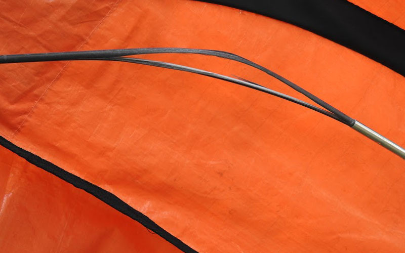 EZ Leaf Hauler snapped handle 2