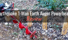 Earthquake 1-Man Earth Auger Powerhead: Product Review