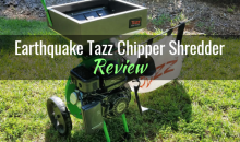 Earthquake® Tazz Chipper Shredder (30520 K32): Product Review