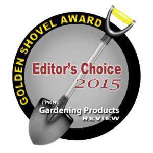 Golden Shovel Award from Gardening Products Review