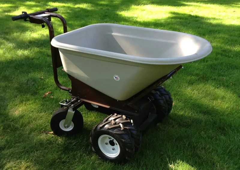 Electric Wheelbarrow - full view