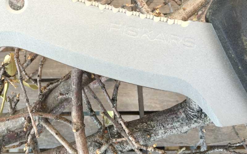 straight blade on Fiskars Billhook