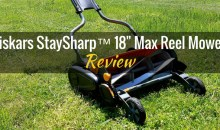 "Fiskars StaySharp™ 18"" Max Reel Mower: Product Review"