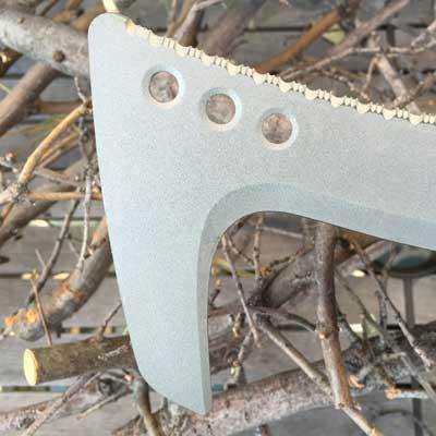 hooked blade on Fiskars Billhook