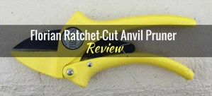 Florian Ratchet-Cut Anvil Pruner