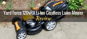 Yard Force Cordless Lawn Mower