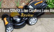 YardForce 120vRX Lithium-Ion 22″ Self-Propelled 3-in-1 Mower: Product Review