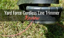 "Yard Force 120vRX Lithium-Ion 18"" Cordless Line Trimmer: Product Review"