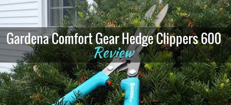 Gardena Comfort Gear Hedge Clippers 600