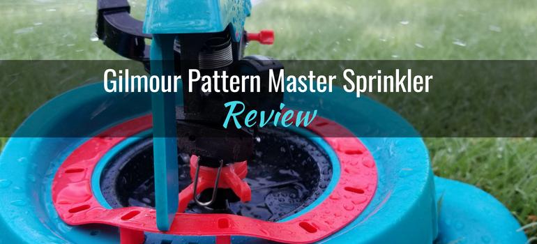 Gilmour Pattern Master Sprinkler