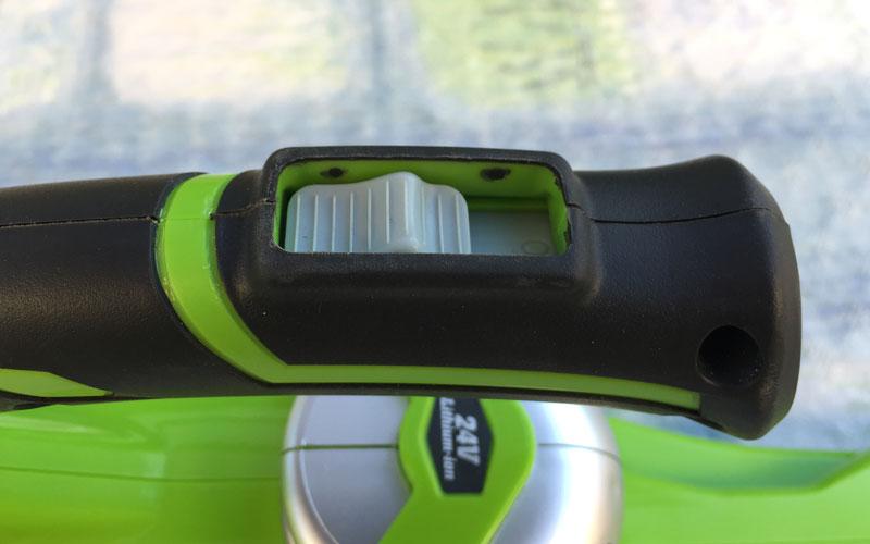 Greenwork-24-Volt-Sweeper-On-Off-switch